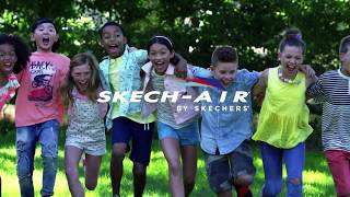 Get your air on in the latest Skech-Air styles! From Z-Strap super grip air pockets for boys to colorful air pillows for girls, Skech-Air brings fun and comfort to every game. Give your soles a cushiony boost with squishy soft memory foam for all-day play! Take to the air in sporty style and cool comfort with Skech-Air – only from Skechers. Shop for Skech-Air and other Skechers Kids footwear for boys and girls at:https://www.skechers.com/en-us/kids-shoes Check us out for news, contests and updates:http://www.facebook.com/SKECHERShttp://www.twitter.com/SKECHERSUSAhttp://www.instagram.com/skechershttp://www.pinterest.com/skechersAnd follow SKECHERSUSA on Snapchat!