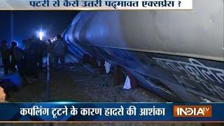 Garhmukteshwar India  city pictures gallery : Delhi-Faizabad Express Derails Near Hapur in UP, 36 Injured