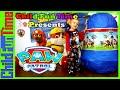 GIANT PAW PATROL Toys Surprise Egg Opening Nickelodeon Kids Video