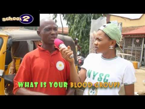 Very Funny Video What Is Your BLOOD GROUP (SCHOOL2 COMEDY) (Nigerian Comedy)