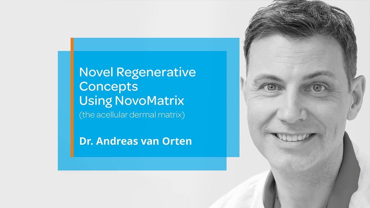 BioHorizons Camlog webinar — Novel Regenerative Concepts Using NovoMatrix