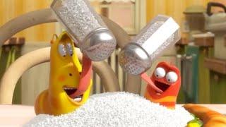 Video LARVA - COME MENOS SAL | 2017 Película Completa | Dibujos animados para niños | WildBrain en Español MP3, 3GP, MP4, WEBM, AVI, FLV Agustus 2018