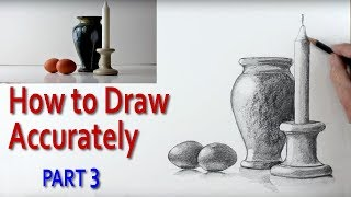 This is the final video in my series on How to Draw a Still Life Accurately. This time I am concentrating on adding tone; light and shade. I am using two pencils; 2B and a 6B and a 4B piece of graphite. I explain how dark tones make light tones stand out, how to shade in a very subtle way using the side of the pencil. I also show how to create the subtle reflections from a shiny surface on to the bottom of two eggs. I also show how important it is to create edges to define objects rather than using outlines. This art tutorial is aimed at secondary school children and those wishing to improve their drawing skills.Check out : http://www.art-tutorialsonline.comhttp://paulpriestley.comyoutube.com/paulpriestleyart