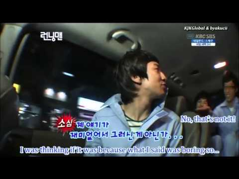 Kwang Soo - His First Day On Running Man