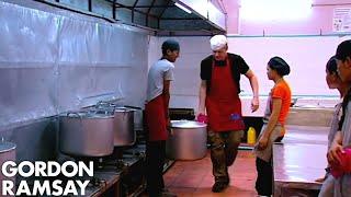 Video Gordon Ramsay Learns How To Make A Pork & Pumpkin Curry In Cambodia | Gordon's Great Escape MP3, 3GP, MP4, WEBM, AVI, FLV Maret 2019