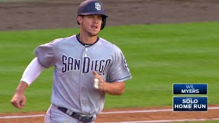 Wil Myers restores the Padres' lead in the top of the 5th as he cracks a solo homer into the seats in left-center Check out ...