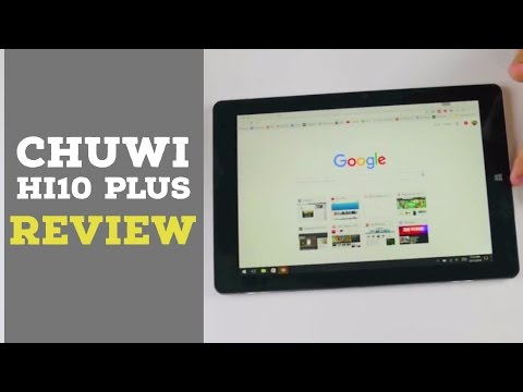 CHUWI Hi10 Plus Review: $199 Windows and Android Tablet