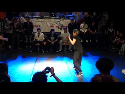 Feel the Funk Vol.7 Lockin 2012 Quarter final Motoki vs Risa -one more round-