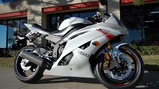5. 2015 Yamaha YZF-R6 Pearl White