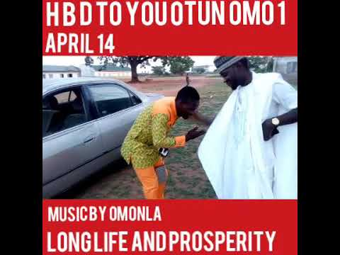 WASIU ALABI OMONLA AKOBI OSUPA GREET OTUN OMO FOR BIRTHDAY