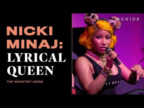 "How Nicki Minaj Wrote Her ""Monster"" Verse | Nicki Minaj: Lyrical Queen"