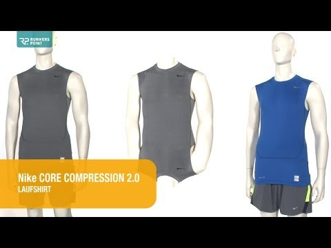 Herren Kompressionsshirt Nike Core Compression 2.0 Lauftop