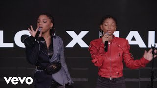 Video Chloe x Halle - Warrior (Chloe x Halle live on the Honda Stage at iHeartRadio New York) MP3, 3GP, MP4, WEBM, AVI, FLV Maret 2019