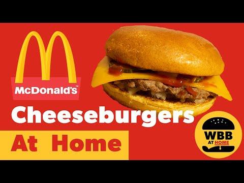 How To Make A McDonald's Cheeseburger At Home - McDonald's Cheeseburger Copycat Recipe