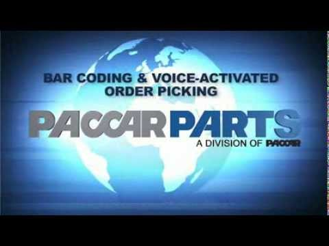 PACCAR Parts Bar coding and Voice Activated Order Picking