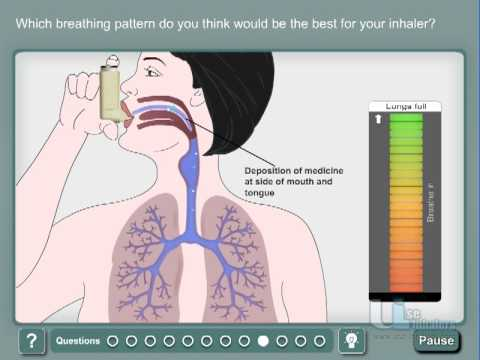How to use Asthma inhaler - MDI