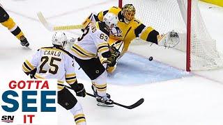 Gotta See It: Casey DeSmith Denies Brad Marchand With Desperation Glove Save by Sportsnet Canada