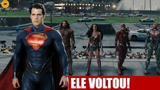 Video Trailer 3  Liga da Justiça Mostra Retorno do Superman?? Será? MP3, 3GP, MP4, WEBM, AVI, FLV Desember 2017