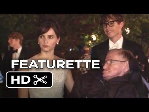 The Theory of Everything Featurette - Stephen Hawking's Set Visit (2014) - Eddie Redmayne Movie HD