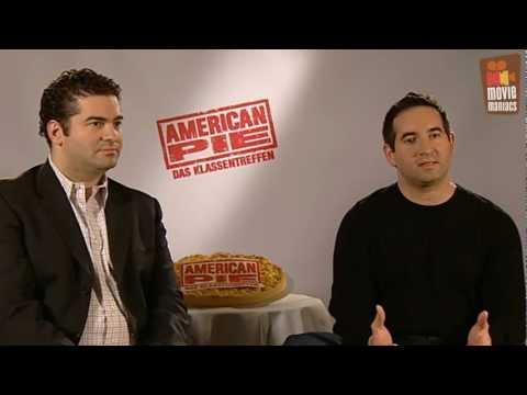 Hayden Schlossberg - Wir trafen die Regisseure in Berlin und sprachen mit ihnen darüber wie es war, Teil der American Pie Familie zu werden - American Pie 4 Klassentreffen - http...