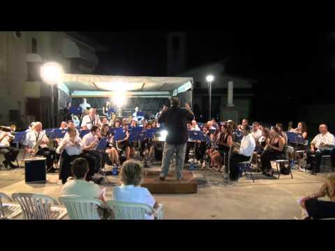 Banda Ponte Buggianese Filarmonica F. Nucci Sax Tenore Carlo Sevieri Caruso Concerto 06 Agosto 2012