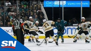 Bruins' Zdeno Chara Blasts Rolling Puck, Scores 199th Career Goal by Sportsnet Canada