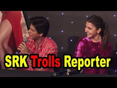 Shahrukh Khan Trolls Reporter On Asking About Indian Cricketers