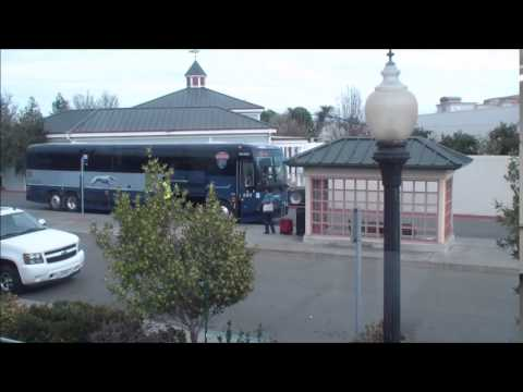 Amtrak: Train 545: Jack London Square Train Arriving & Departing Suisun/Fairfield Station