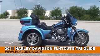 7. Used 2011 Harley Davidson Tri Glide Trike for sale in Lakeland, FL