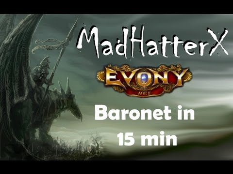 baronet - This guide will explain how to get to Baronet in 15 min. If you like this guide, please check out my website for more tips and guides at http://evony.motleyc...