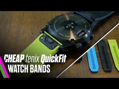 Cheap fenix 5 Watch Band Knock-offs - Do they suck? (Spoiler) It's actually pretty good!