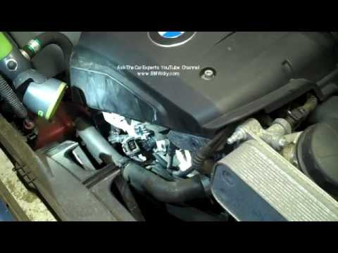 how to change crankshaft sensor on 2008 bmw 323i