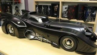 Video Batman 1989 Hot Toys Batmobile review MP3, 3GP, MP4, WEBM, AVI, FLV Maret 2018
