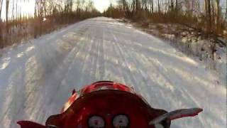 6. 2003 Polaris Pro X 600 1.5 mile speed run