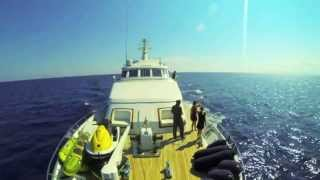 My First Time Lapse, Star of the Sea Yacht trip from Sardegna to Sanremo.