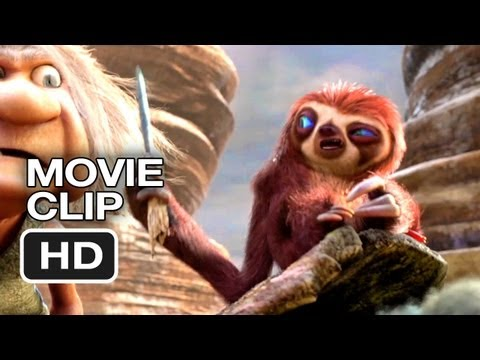 The Croods Movie CLIP - Road Trip (2013) - Emma Stone, Ryan Reynolds Animated Movie HD Video