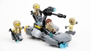 LEGO Star Wars Resistance Trooper Battle Pack (Timelapse & Review) - Set 75131
