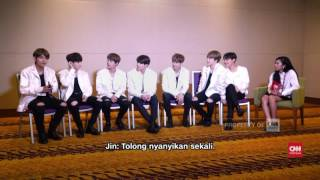 Eksklusif - Bangtan Boys - BTS di Indonesia (part 1 of 2) K-Pop Boy Band