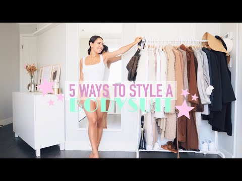WHAT TO WEAR WITH A BODYSUIT | 5 Ways to Style a Basic Bodysuit