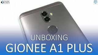 Gionee A1 Plus unboxing and hands on overview with camera samples, look at its hardware, build and display. The Gionee A1 Plus comes with dual 13 MP and 5 MP rear cameras, 6-inch full HD display, octa-core MediaTek Helio P25 processor, 4GB RAM and 64GB onboard storage running Android Nougat.Subscribe on YouTube, to get videos first:http://www.youtube.com/subscription_center?add_user=PhoneBunchFollow PhoneBunch:http://www.phonebunch.comhttp://www.facebook.com/phonebunchhttp://www.twitter.com/phonebunchFollow Abhinav Pathak (Editor):https://www.facebook.com/Abhi.IKnowIThttp://www.twitter.com/exoleteIntro Music:Signal by LAKEY INSPIRED https://soundcloud.com/lakeyinspiredCreative Commons — Attribution-ShareAlike 3.0 Unported— CC BY-SA 3.0 https://creativecommons.org/licenses/by-sa/3.0/