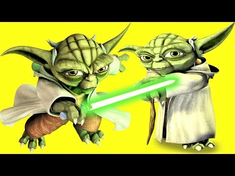 Star Wars, Yoda Modelling, Play Doh, Animation Movies For Kids
