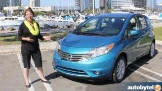 2014 Nissan Versa Note Car Video Review