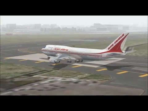 Video BOEING 747 300 AIR INDIA TAKE OFF FROM MUMBAI AIRPORT FS9 HD download in MP3, 3GP, MP4, WEBM, AVI, FLV January 2017