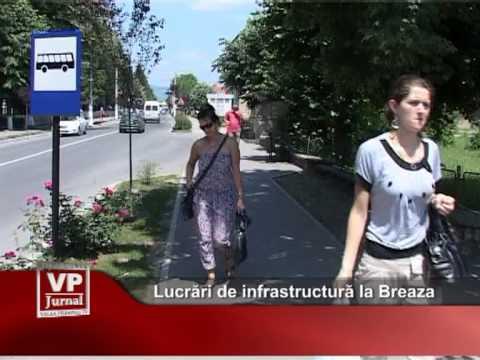 Lucrări de infrastructură la Breaza