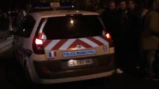 Evry France  city pictures gallery : Policiers en colère : Préfecture de l'Essonne. Evry/France - 18 Octobre 2016