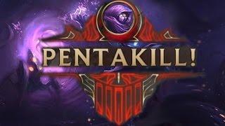 Chết rồi còn ăn được Pentakill không tưởng của Malzahar