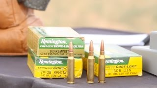 """Can two smaller rounds beat their """"parent"""" 308 Winchester? Shoot flatter, drift less, hit harder? Ballistics and long range tests test the theory. For Blogs, Photography and more Ron Spomer check out http://www.Ronspomeroutdoors.comConnect on Facebook: http://www.facebook.com/ronspomerInstagram: http://www.instagram.com/ronspomerTwitter: http://www.twitter.com/ronspomer.com"""