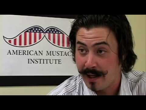 Clay Zavada - After winning the American Mustache Institute's