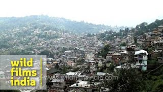 Kalimpong India  city photo : Top view of Kalimpong - West Bengal