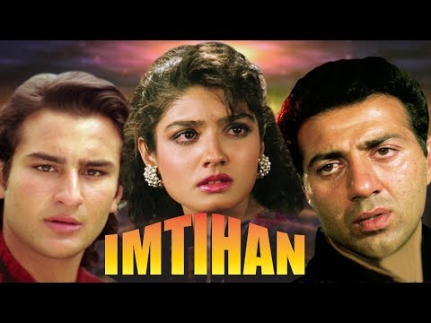 Imtihan Full Movie | Sunny Deol Hindi Action Movie | Saif Ali Khan | Raveena Tandon |Bollywood Movie